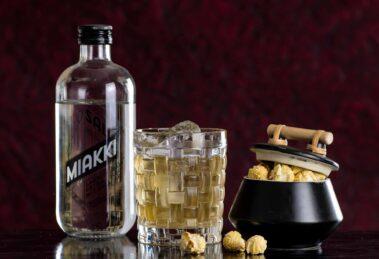 Hoos Sal Miakki im Danish Cinema Cocktail.