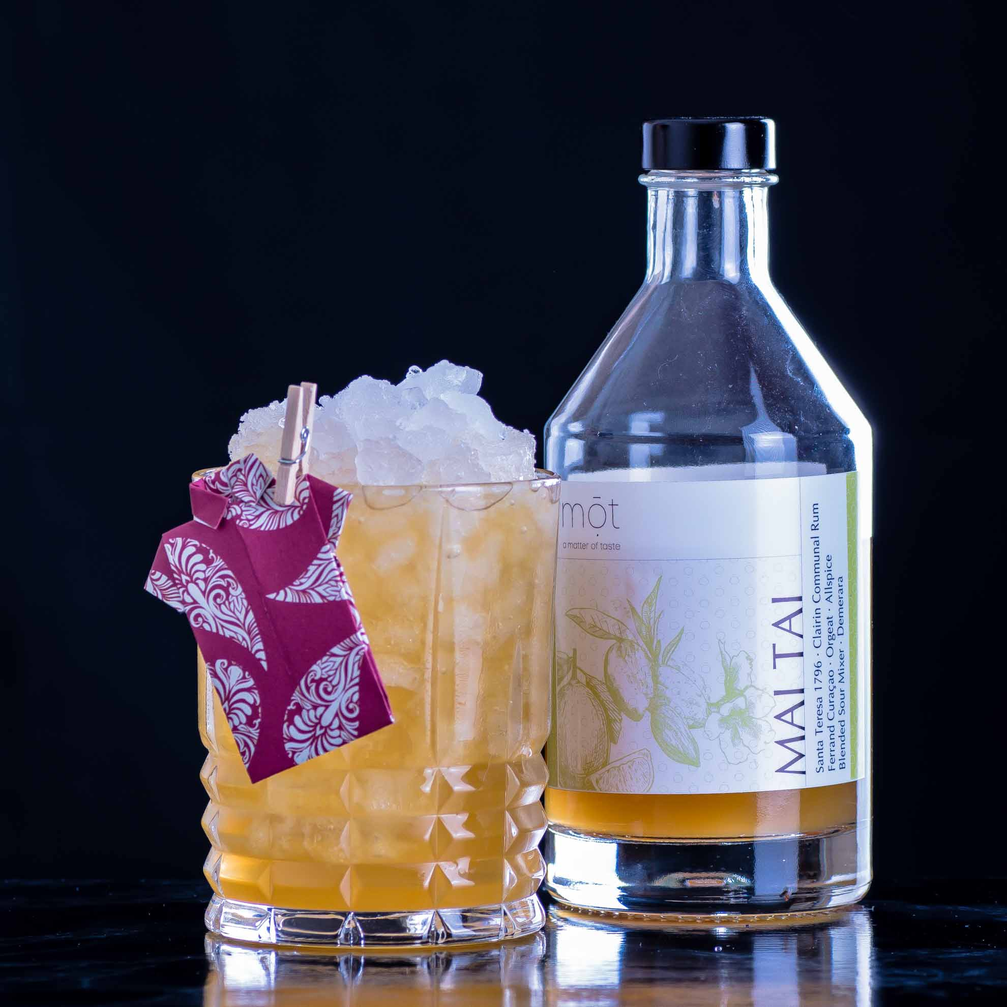 Der mōt Bottled Cocktails Mai Tai.