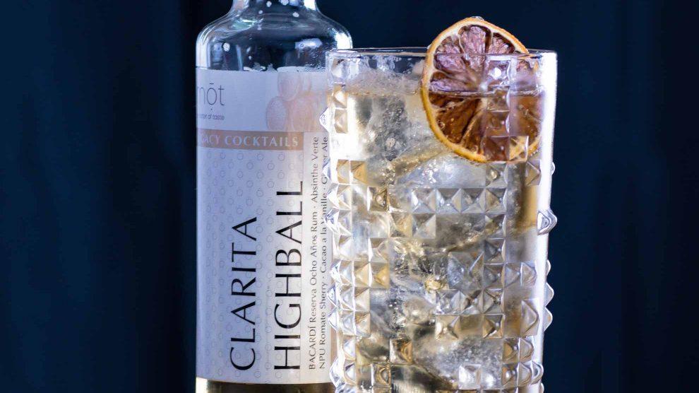 Der mōt Bottled Cocktails Clarita Highball.