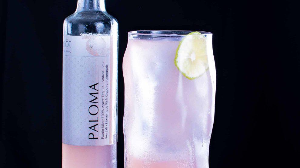 Die mōt Bottled Cocktails Paloma.