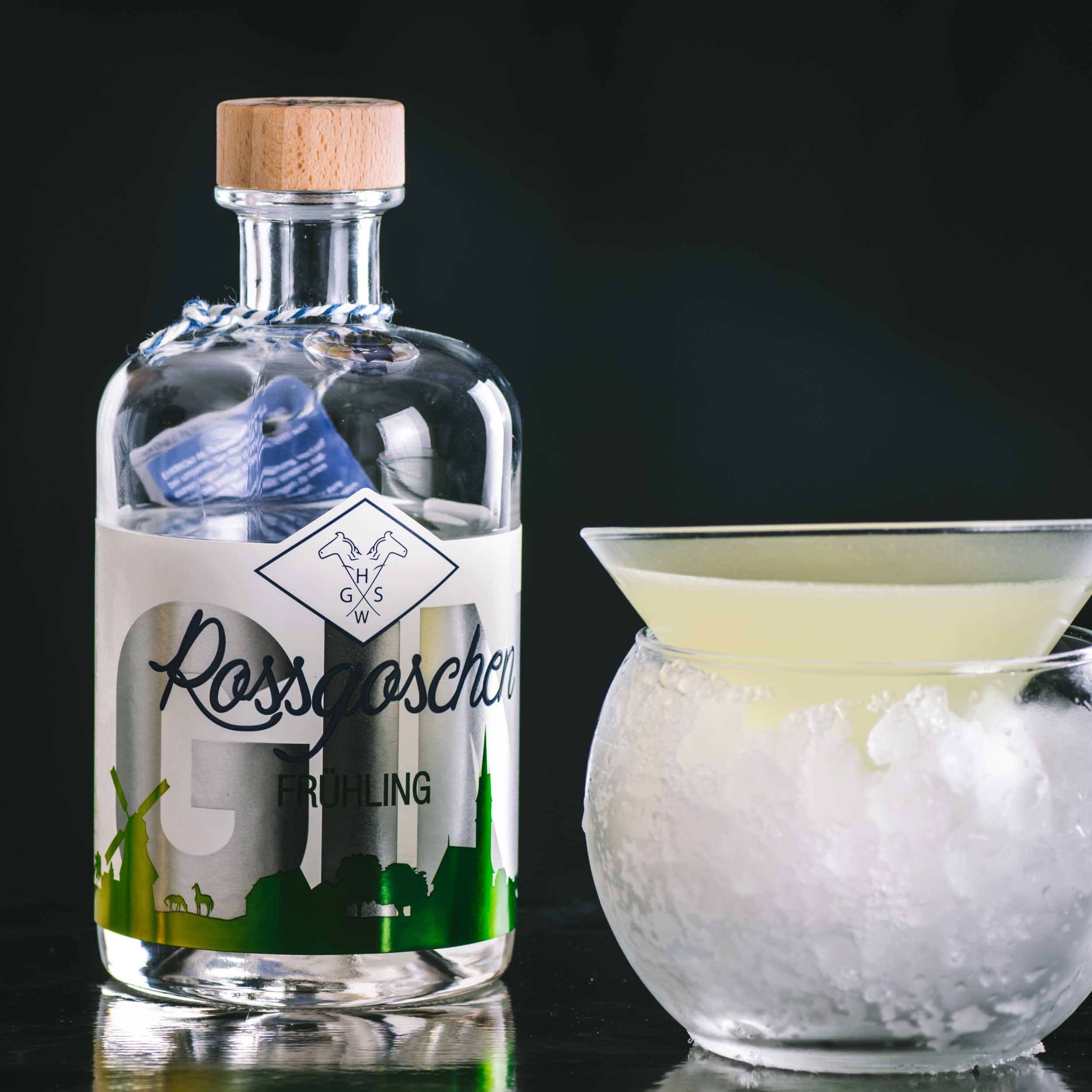 Rossgoschen Frühling Gin im Last Horse Cocktail.