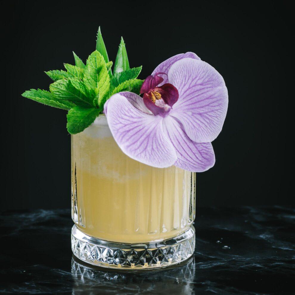 Der Royal Hawaiian Mai Tai mit jeder Menge Rum und Saft.