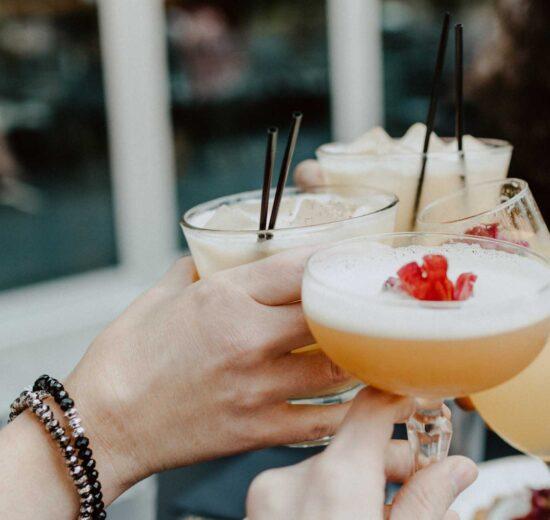 Gartenparty ohne sommerliche Cocktails? Nicht mit uns.