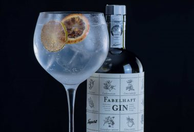 Fabelhaft Gin in einem Gin & Tonic.