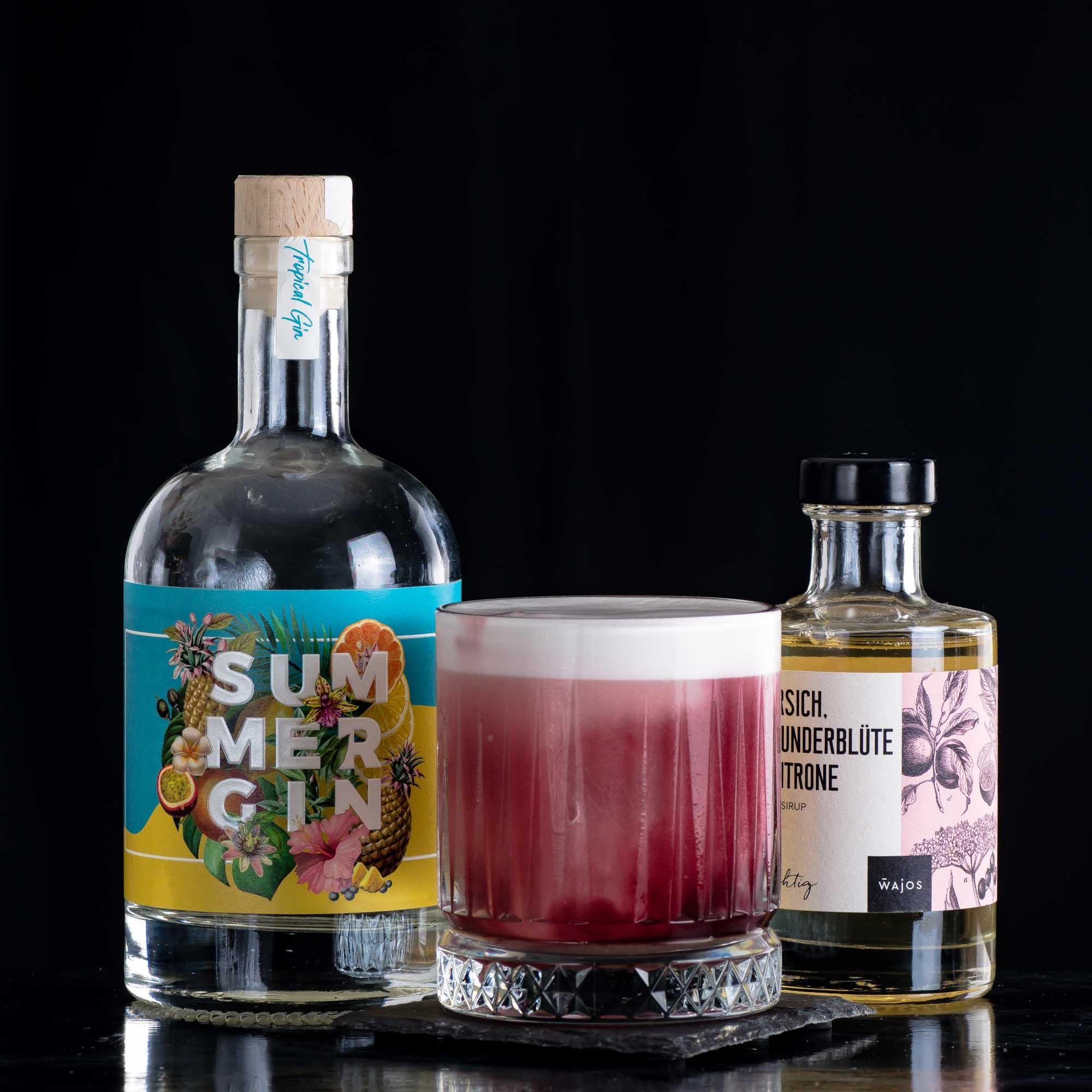 Wajos Summer Gin im Summer Moon Sour.